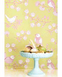 Sugar Tree Soft Yellowgreen/Pink/ Cream White från Majvillan