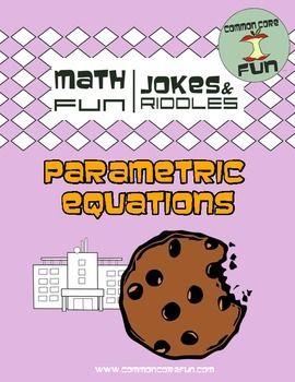 Great activity for parametric equations!  www.teacherspayteachers/store/common-core-fun