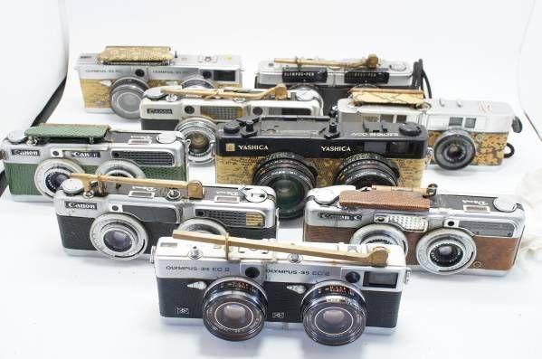64★ ステレオカメラ 改造 結合 合体 マニア コレクション レア_画像1
