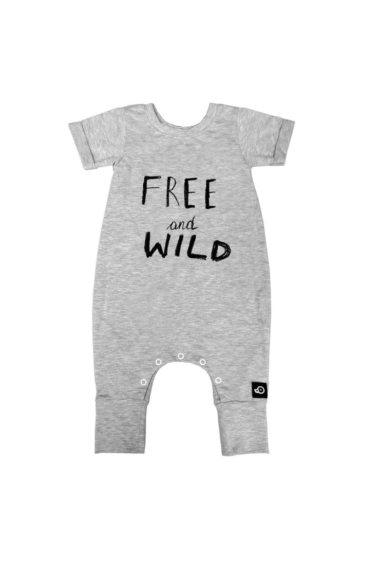 Hipster Baby Romper / Organic Cotton T-shirt Romper / Grey  / Jumpsuit / One Piece / Bodysuit by Pocopato on Etsy