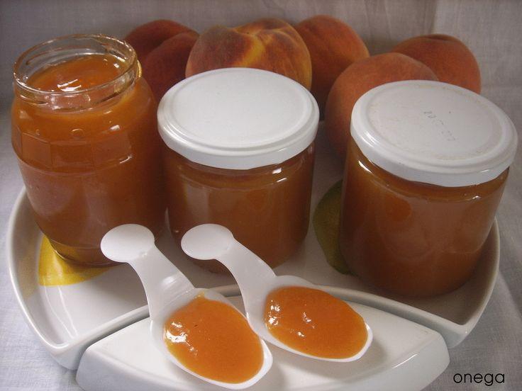 Magia en mi cocina: Mermelada de melocotón