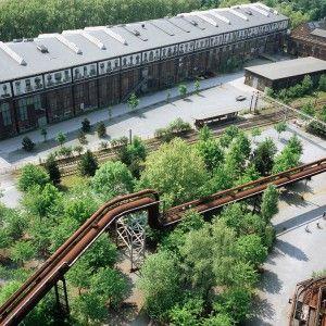 Post Industrial Park Landschaftspark Duisburg Nord by Latz + Partner
