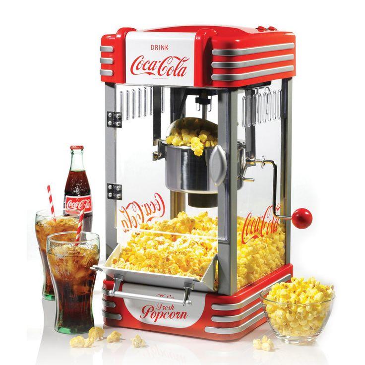 Nostalgia RKP630COKE Machine à Popcorn Rétro Coke
