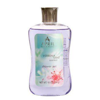 April Bath And Shower april bath & shower verbena mint scented shower gelapril bath