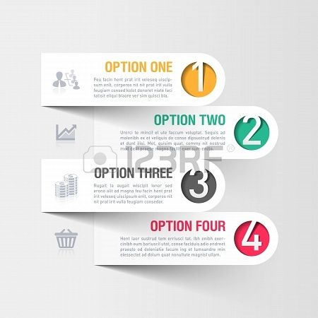 #Modern Business #Infographics Template #options #howto #instructions #timeline