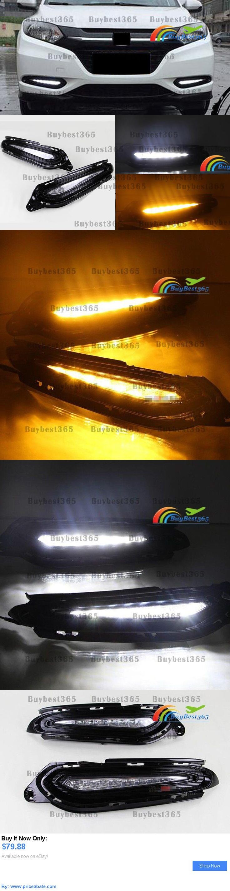 Motors Parts And Accessories: White Led Drl Daytime Running Light Fog Lamp Yellow Signal For Honda Hrv Hr-V Lx BUY IT NOW ONLY: $79.88 #priceabateMotorsPartsAndAccessories OR #priceabate
