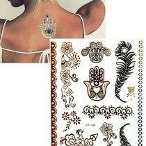Arany tetoválás - fatima