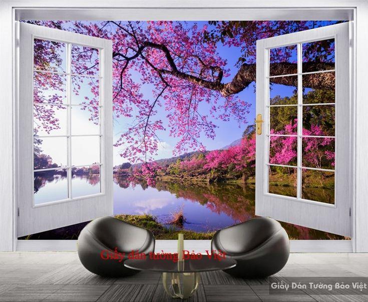 Giấy dán tường phòng khách đẹp Tr162 | Giấy dán tường Bảo Việt