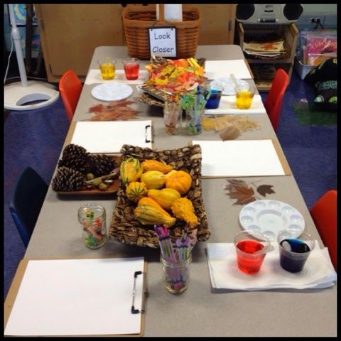 look closer-observing fall Inquiring Minds: Mrs. Myers' Kindergarten