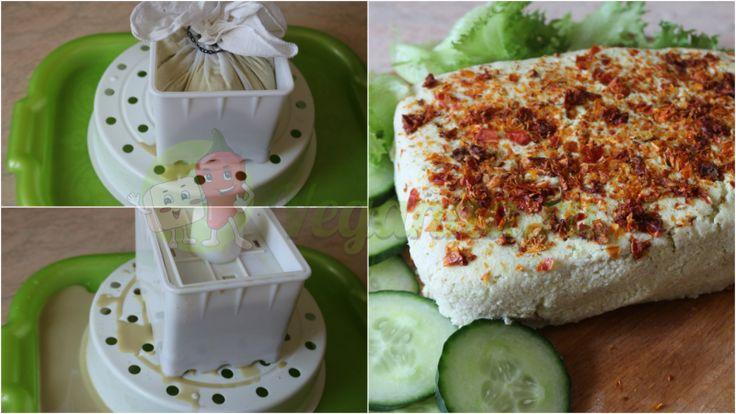 Вкусный, ароматный с пряной кислинкой веганский сыр из самых простых ингредиентов!