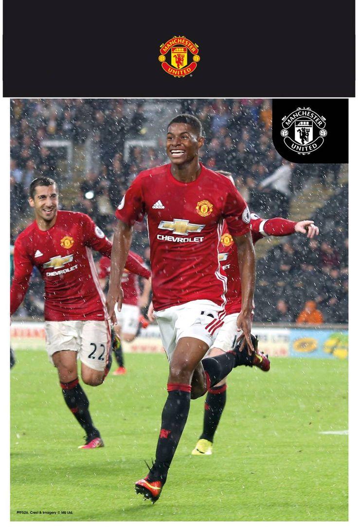 #Manchester United Rashford 16/17 Bagged #Manchester United Rashford 16/17 Bagged Photographic Print (Barcode EAN=5028486363063)
