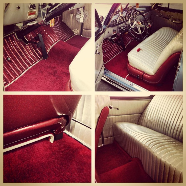 my pontiac 39 s kustom interior pleated kodiak sparkle vinyl in champagne blood red crushed. Black Bedroom Furniture Sets. Home Design Ideas