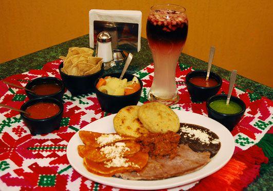 Platillo especial Tamazunchale. Hidalgo México
