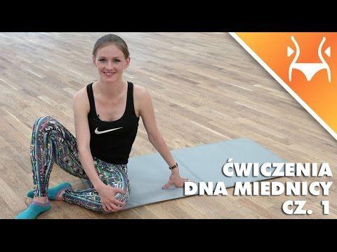 Ćwiczenia na mięśnie dna miednicy, cz. 1 - YouTube