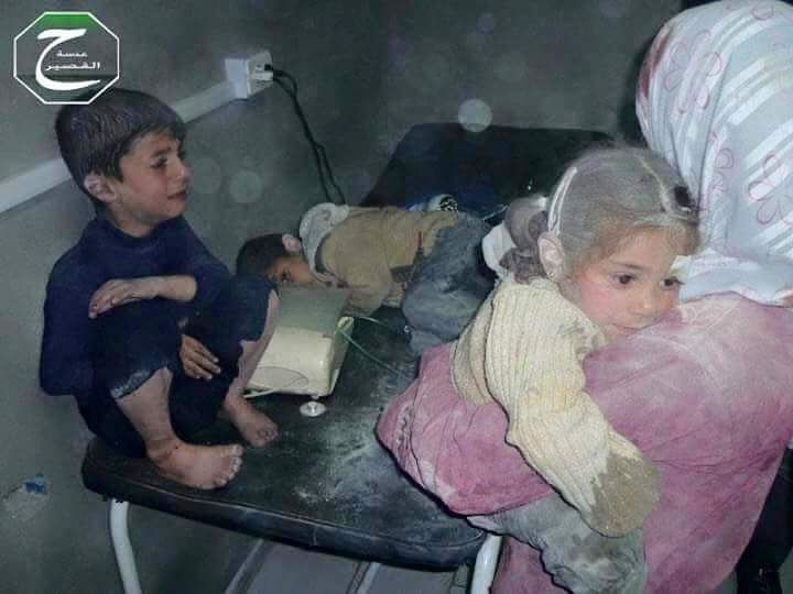 More Than 4000 Civilians Died in the Month of November (Syrian Arab Children; 2015 CE Syria)