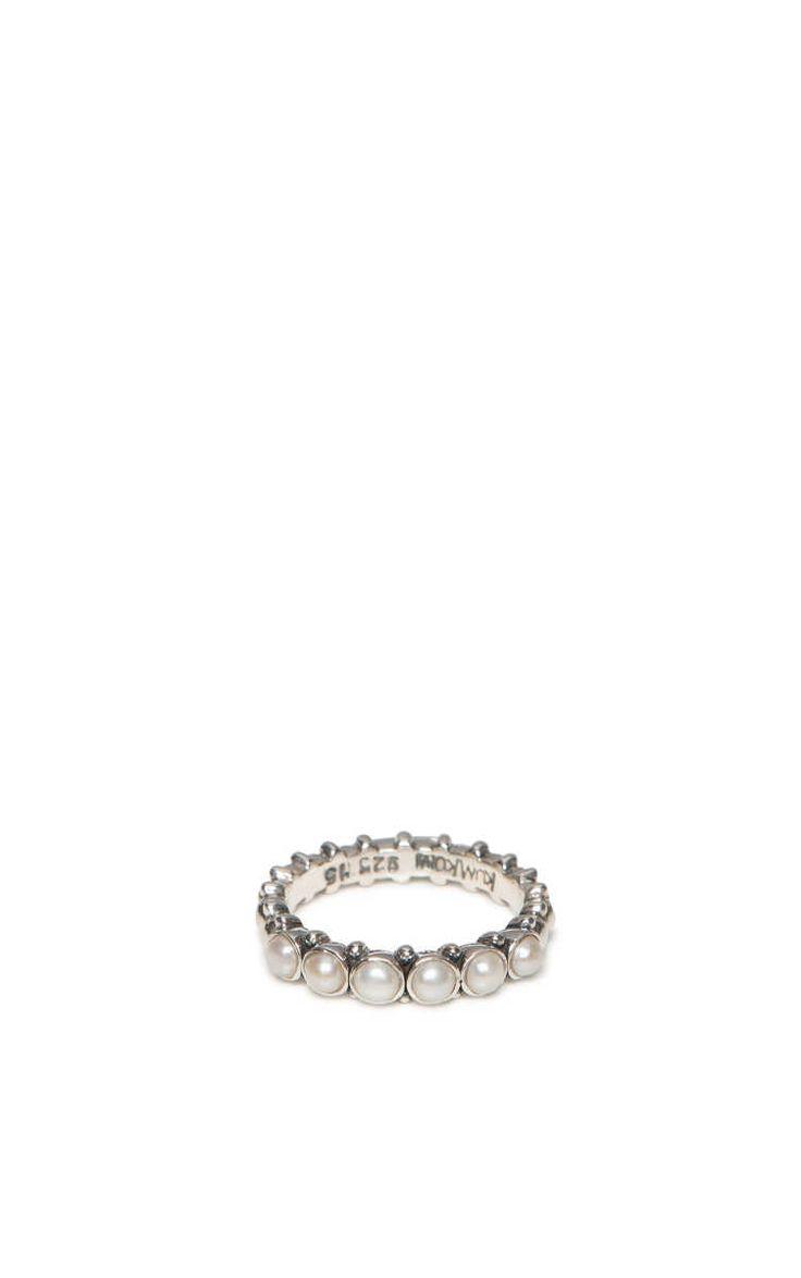 Ring Pretty Pearl SILVER - KumKum - Designers - Raglady