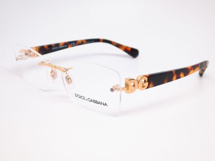 Dolce & Gabbana DG 1278 Gold 1123 Eyeglasses