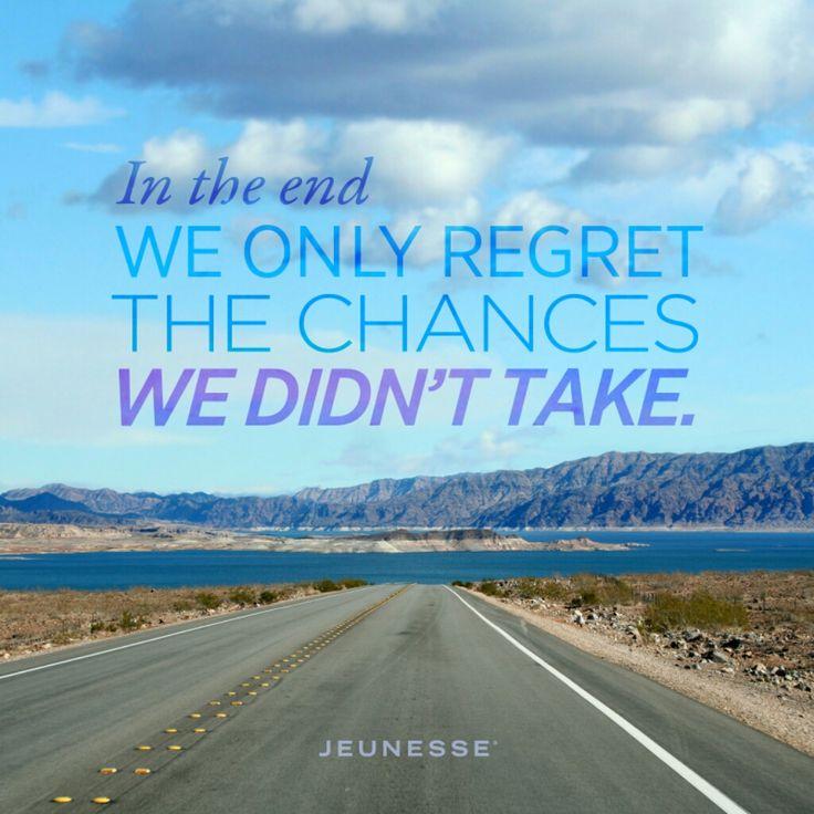 Alla fine rimpiangiamo solo le opportunità che non abbiamo colto  duducorno.jeunesseglobal.com