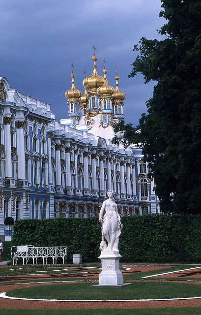 One day, I will go to St. Petersburg....Catherine's Palace, Tsarkoe Selo, Pushkin, St Petersburg, Russia