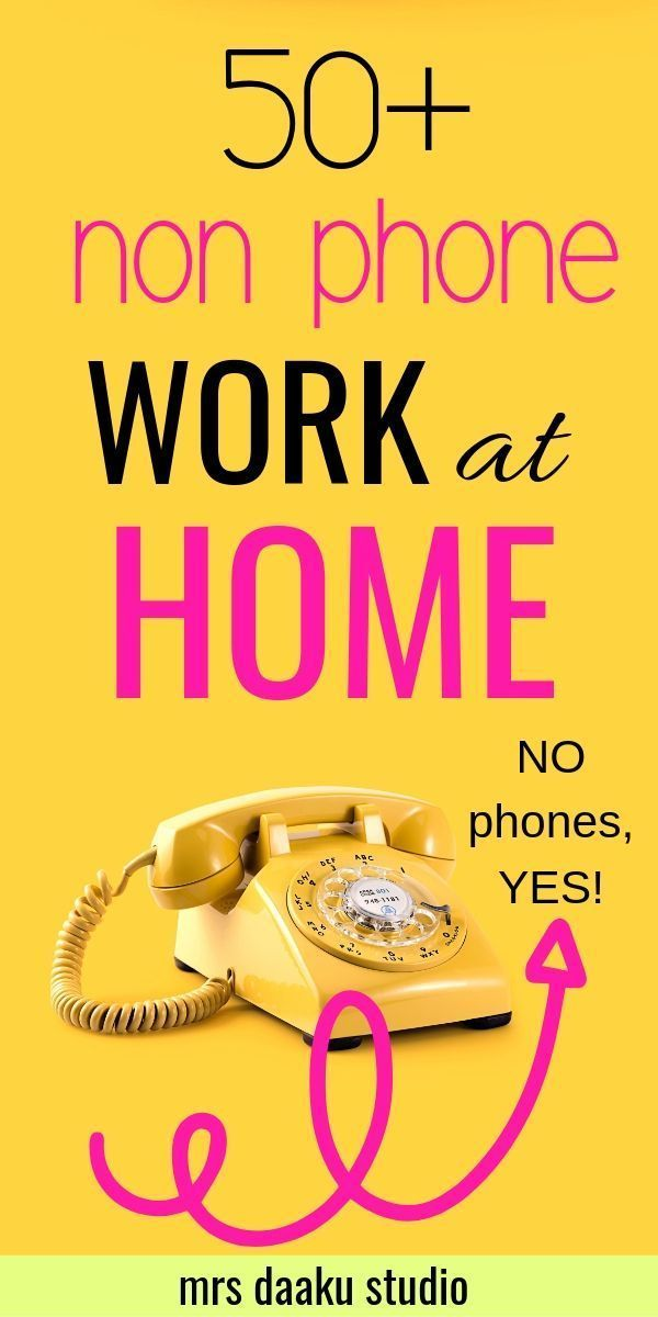 50+ Non Phone Work From Home Jobs hiring right now…