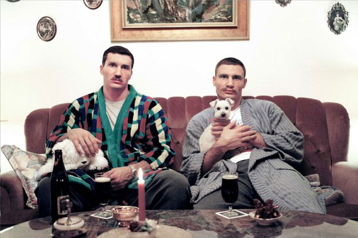 Wladimar and Vitali Klitschko
