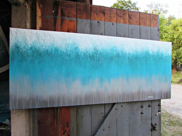 Abstrakcja na płótnie, www.artpracownia.wordpress.com