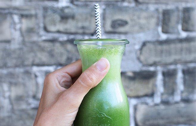 Grøn power juice