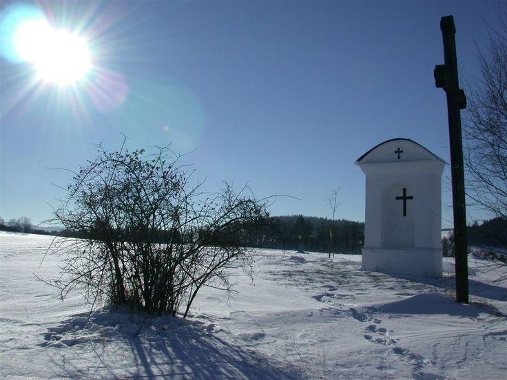 Winter in Podblanicko (Central Bohemia), Czechia