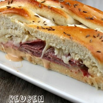 Reuben Bread | Recipes - Meals | Pinterest | Parties, Breads and ...