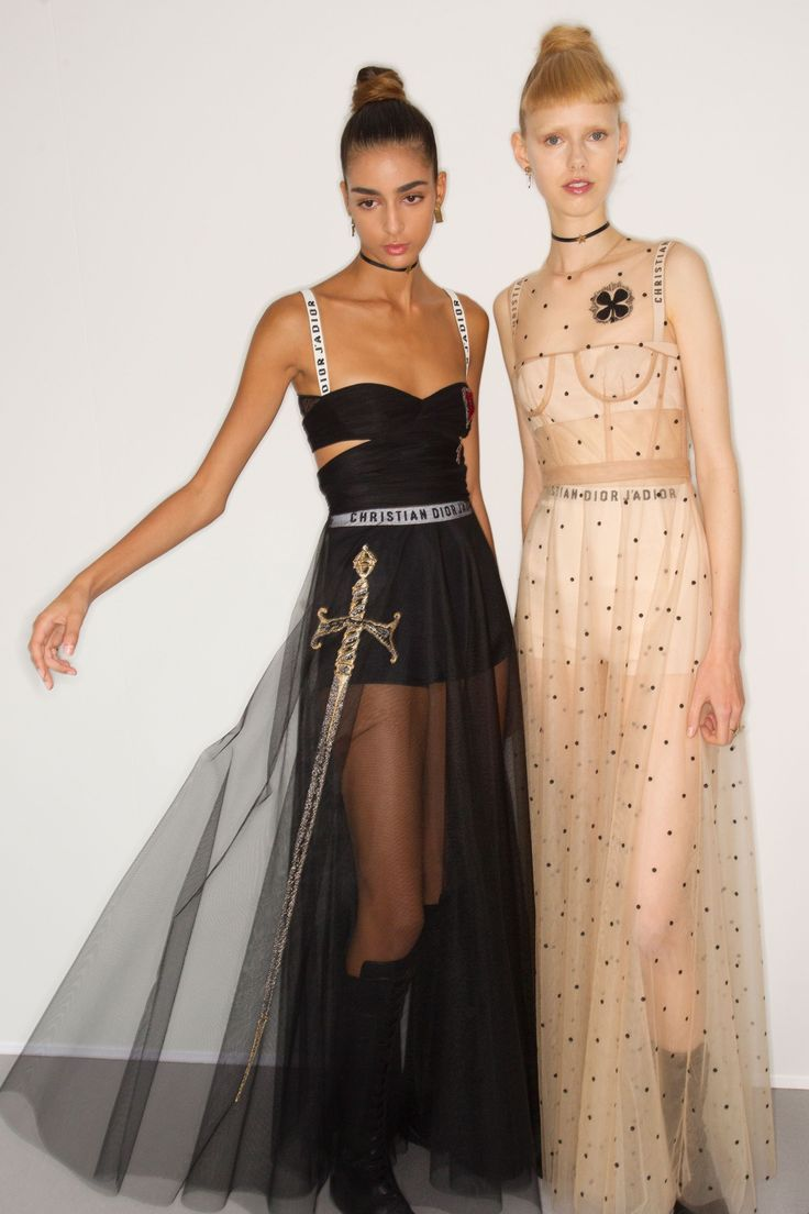 Christian Dior Spring 2017 Ready-to-Wear Fashion Show Backstage