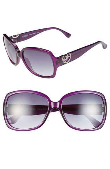 MICHAEL Michael Kors 'Angela' 58mm Sunglasses available at #Nordstrom