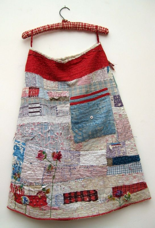 old quilt into a skirt - Mandy Pattullo