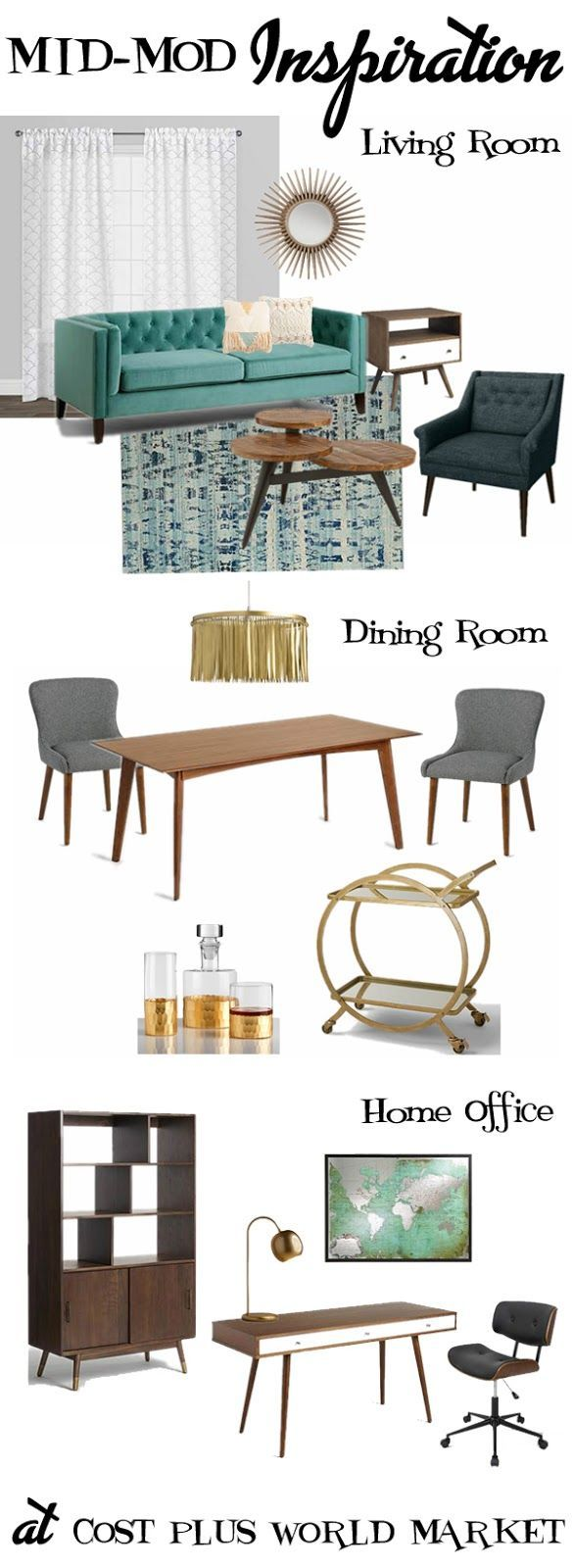 431 best Dining Room- Vintage Modern images on Pinterest | Chairs ...