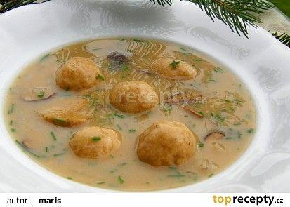Starodávná polévka z hub recept - TopRecepty.cz