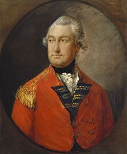 General Sir Charles Cornwallis, 1st Marquess Cornwallis was born on 31 December 1738- was  Lord of the Bedchamber, Privy Counselor and more to King George III.