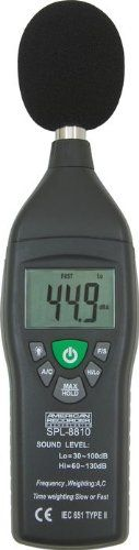 American Recorder Technologies Sound Level Meter - http://www.rekomande.com/american-recorder-technologies-sound-level-meter/