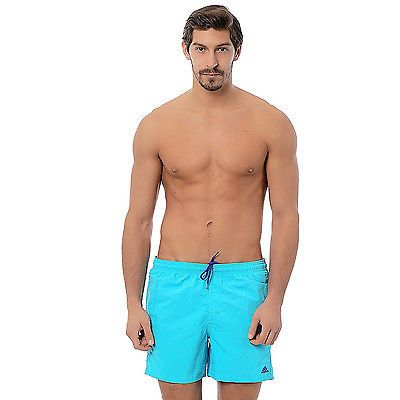 #Adidas performance mens short #swimming shorts #beach swim trunks - blue - l,  View more on the LINK: 	http://www.zeppy.io/product/gb/2/231971475019/