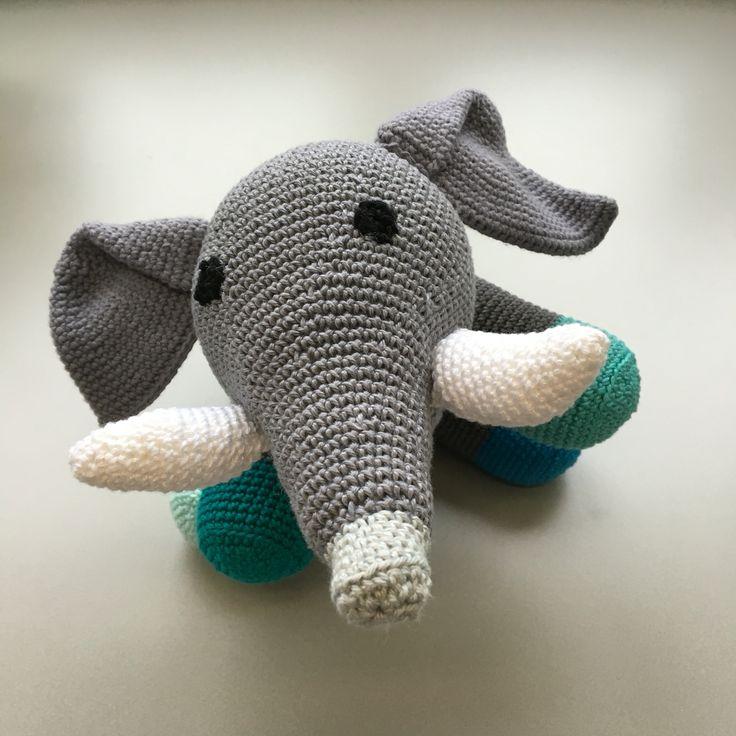 Kleurrijke olifant #vlijtigbylies