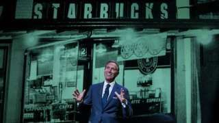 Image copyright                  Getty Images                                                     The chief executive of the Starbucks coffee chain, Howard Schultz, will step down from his post next year. Mr Schultz will become executive chairman and will change his focus to growing new Starbucks luxury brands. He will be replaced by the current number two, Kevi