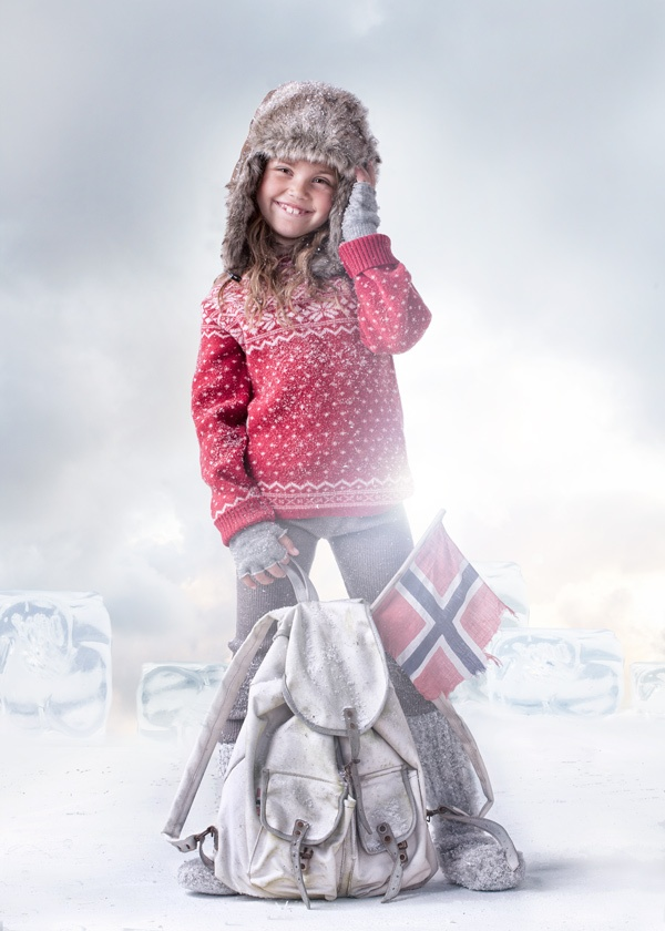 Blink sweater red <3  Copyright: Mole-Little Norway | Photo: Geir Øyvind Gismervik