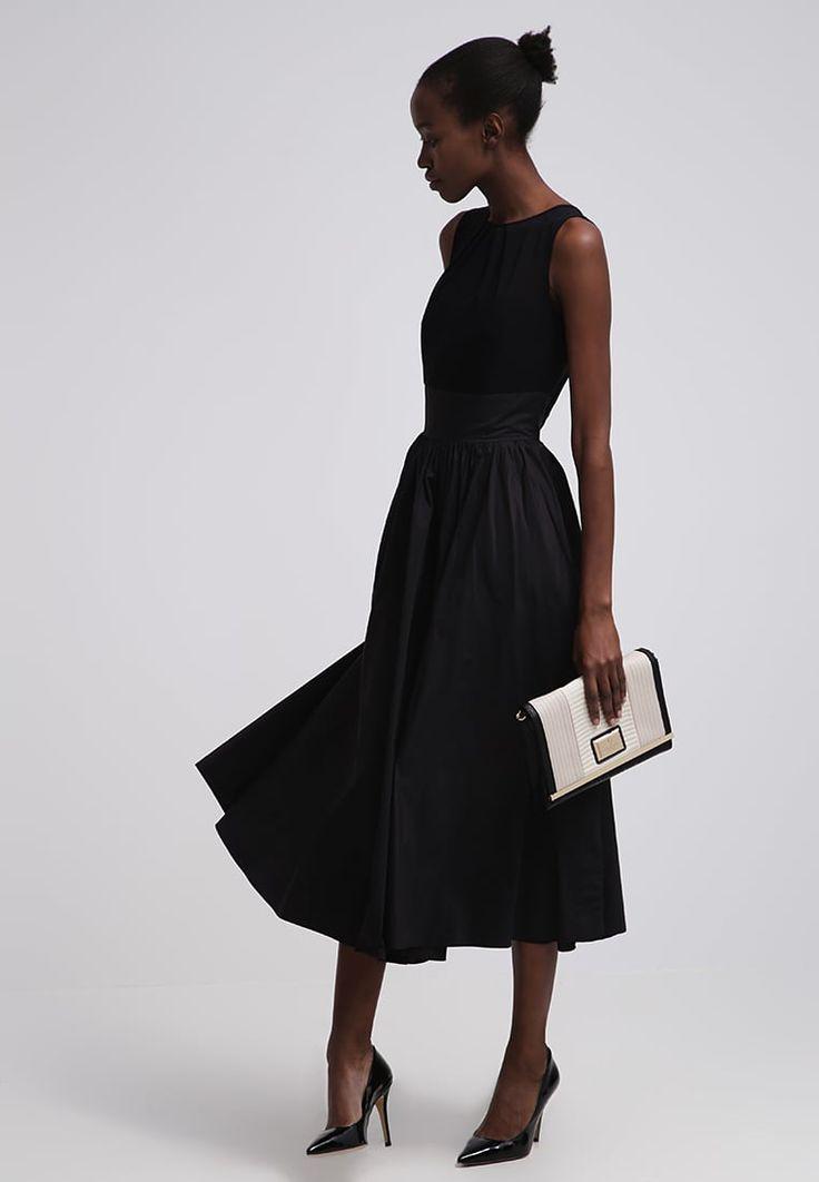 Swing Długa sukienka - black - Zalando.pl
