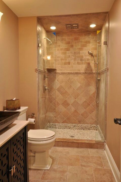 Basement Shower Reno   Love This Tile!