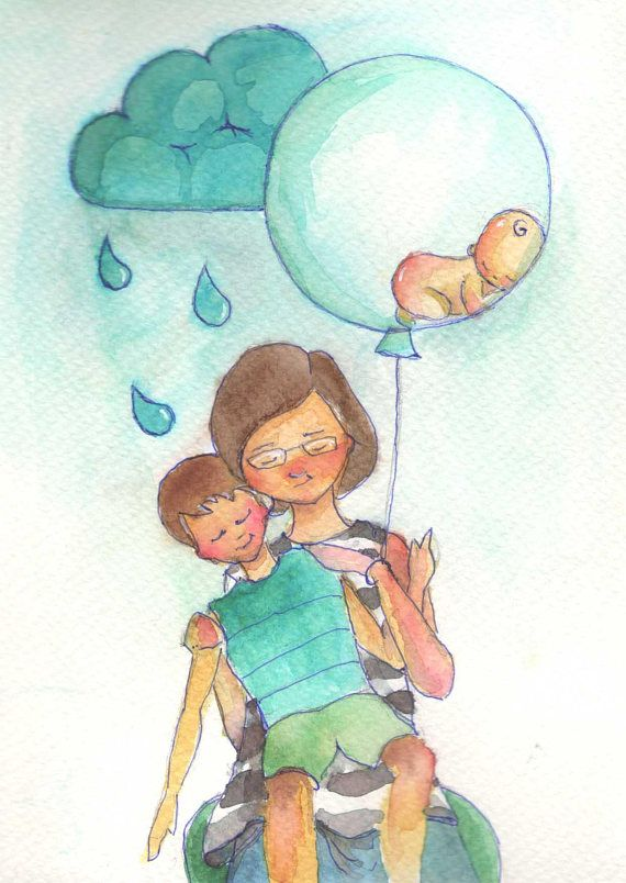 My son wants a little brother illustration