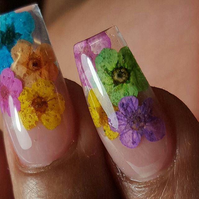 21 Best Encapsulated Flower Nails Images On Pinterest Encapsulated Nails Flower Nails And