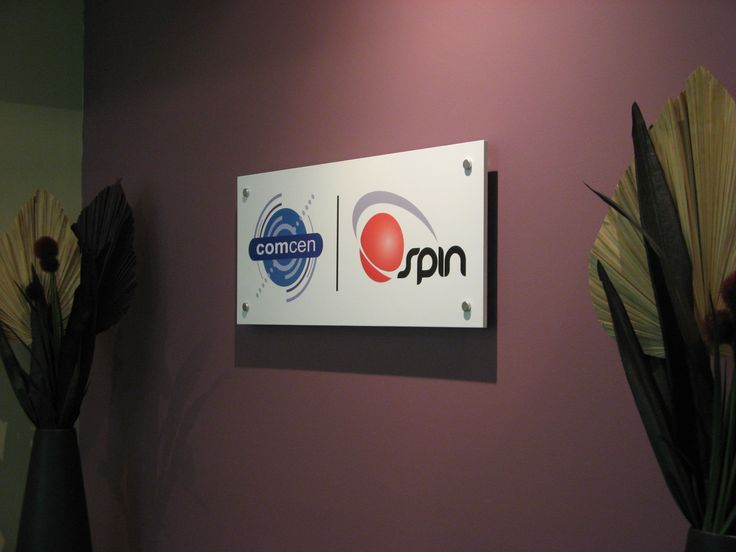 COMCEN #Corporate #Signage #reception