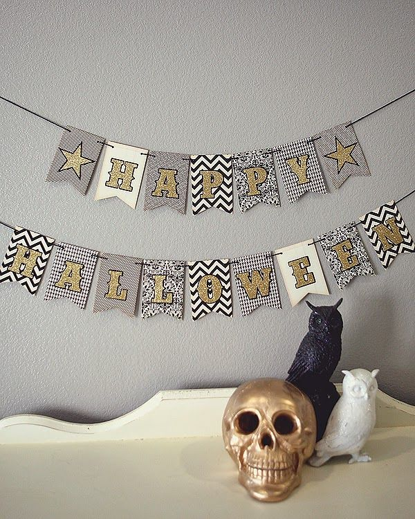 American Crafts Halloween Projects