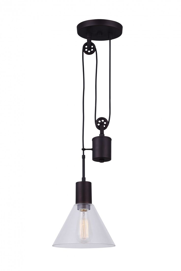 Canarm IPL574A01ORB 1 Light Pendant, Oil Rubbed Bronze – Residential Lighting - GreyDock.com