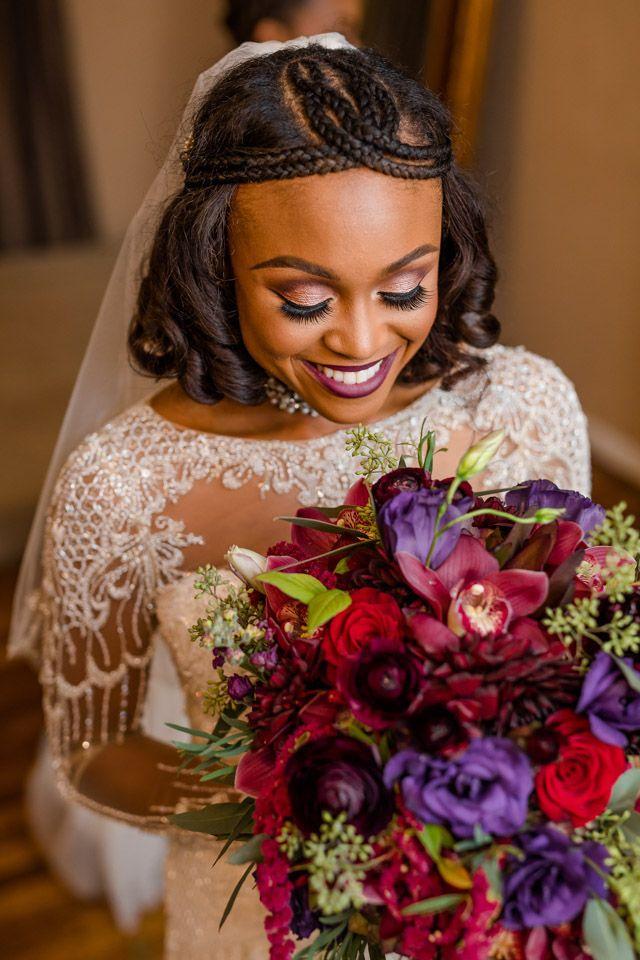 Inspirações de maquiagem para noiva negra