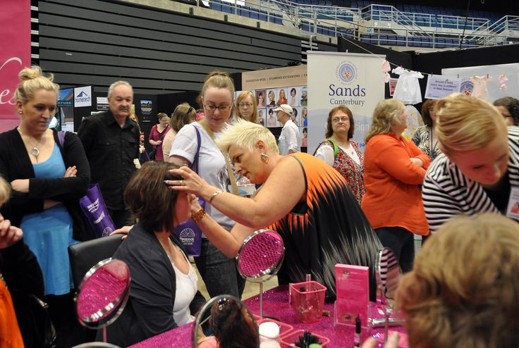 TK's Lashes at the Womens' Lifestyle Expo - CHRISTCHURCH 2013