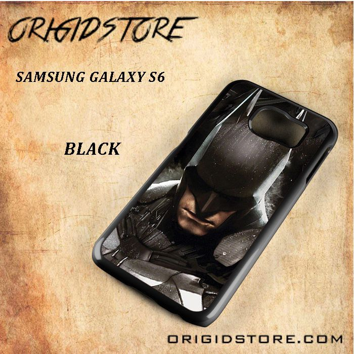 Batman Arkham Knight Mask Black White Snap On Or 3D For Samsung Galaxy S6